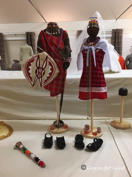 2018 Maasai wedding costumes