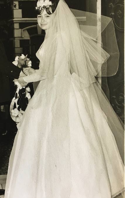 1964 Rosemary's wedding dress